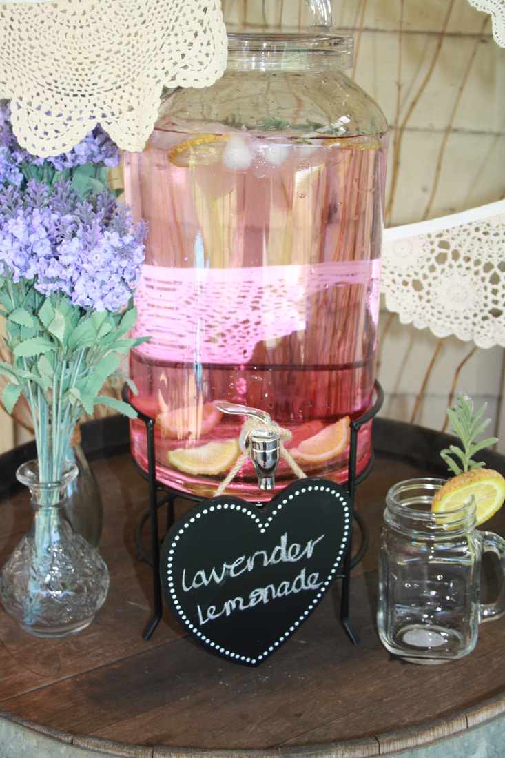 Individual Items for Hire - SUGAR ROSE TEA PARTY HIRE